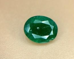 0.90 CRT Natural Swat Emerald Good Color Gemstone L5