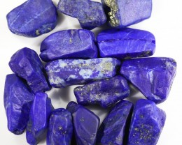 146.00 CTS  LAPIS LAZULI BEADS-A GRADE  -DRILLED [F7255]5