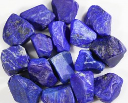 193.00 CTS  LAPIS LAZULI BEADS-A GRADE  -DRILLED [F7258]