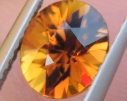 "1.34cts ""Sunset"" Tourmaline, Untreated, Precision cut"