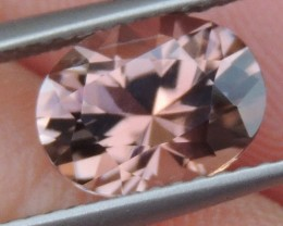 BLACK FRIDAY 1.79cts Peach Tourmaline,  Master Cut,  Untreated