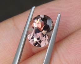 1.79cts Peach Tourmaline,  Master Cut,  Untreated