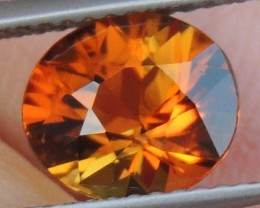 "2.11cts, ""Sunset"" Tourmaline, Untreated, Precision cut"