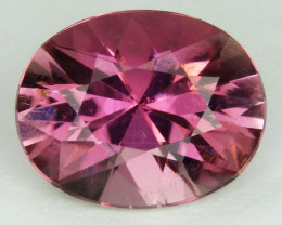 3.67cts Precision cut Pink Tourmaline,  Luster and Fire
