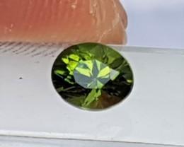 Certified Chrome Tourmaline,   Precision Cut, Untreated