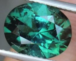 4.17cts Blue Green Tourmaline,  Precision Cut