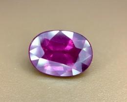 1.90 Crt Natural Purple Rhodolite Garnet Faceted Gemstone (R 127)