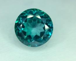 5.0 Crt Natural Green Topaz Faceted Gemstone (R 127)