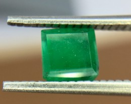0.65 Crt Natural Swat Emerald Faceted Gemstone (938)