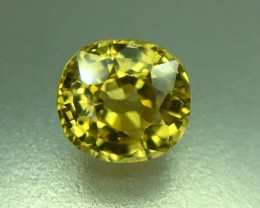 2.20 Crt Natural Zircon Faceted Gemstone (938)