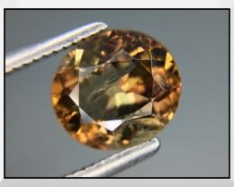 1.76 Cts Rare Axinite Top Color Sparkling Intensev Gemstone ~ Kj72