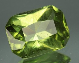 3.33 ct PERIDOT - APPLE GREEN COLOR!