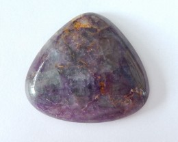 191ct Natural Rainbow Fluorite Cabochon(18012313)