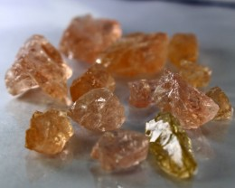 92 CT Natural - Unheated Peach Morganite  Rough lot