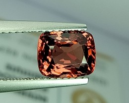 2.00 ct Awesome Cushion Cut Exclusive Reddish Pink Spinel