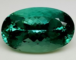 30Crt Top Green Spodumene Best Faceted Gemstones GS11
