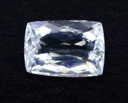 8.80 cts Untreated Princess Cut Aquamarine Gemstone from Pakistan