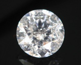 "Certified 0.50 ct Diamond ""I"" White Color from Zimbabwe SKU 2"