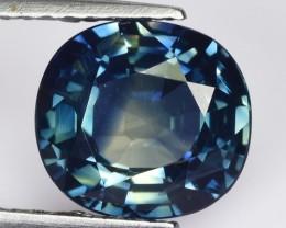 ~IGL~ 2.28 Cts Natural Corundum Sapphire Blue Oval Madagascar