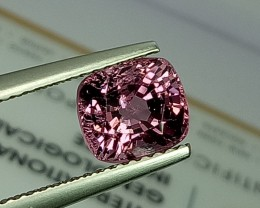 2.07 ct Excellent Cushion Cut Beautiful Pink Spinel