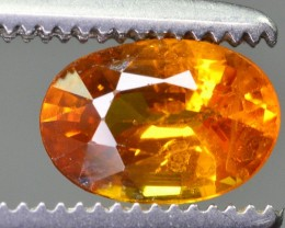 0.75 ct Natural Top Quality Yellow Sapphire