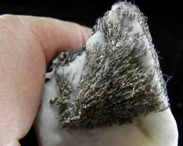 Rare Silver on Calcite from Morocco list price $500.00