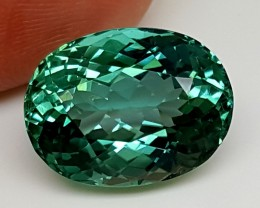 11.40Crt Top Green Spodumene Best Faceted Gemstones GS30