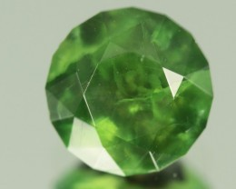 3.55 ct RARE GREEN SMITHSONITE - MASTER CUT!
