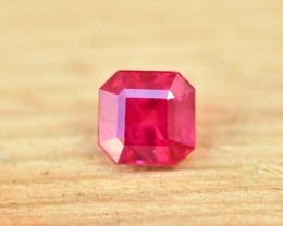 0.69cts Ruby - Mozambique - Fire Red (CDR345)