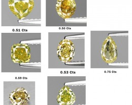 3.82 Cts Untreated Natural Fancy Diamond