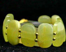 260 CT Natural Onyx Carved Bracelets Stone Special Shape