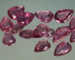 1.42 CT UNTREATED RUBY PARCEL #8 3.5 - 4.5MM