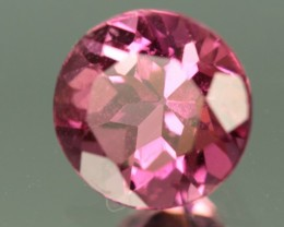 0.85 CT PINK TOURMALINE - VVS!  CALIBRATED