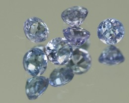 1.0 CTW TANZANITE PARCEL - 3MM - GREAT CUT!
