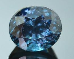 Rare 1.11 ct Blueish Green Garnet Color Change Bekily Mine Madagascar SKU-1