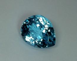 20.95 ct Stunning Super Swiss Natural Blue Topaz