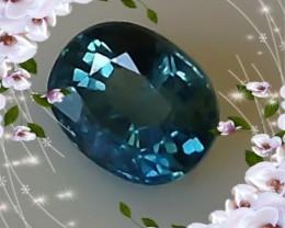 CERTIFIED BLUE SAPPHIRE ~ VVS1 ~ 1.79cts ~ VERY PRETTY GEM