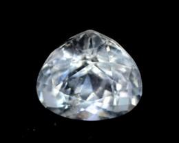 1.75 cts Trillant Cut Untreated Aquamarine Gemstone from Pakis