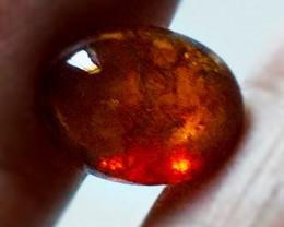 6.45ct Dark Orange Spessartite Garnet Cabochon -