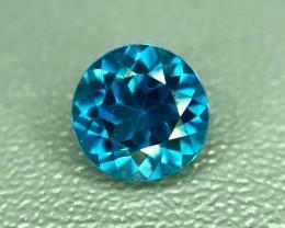 1.65 Crt Natural Blue Topaz Faceted Gemstone (941)