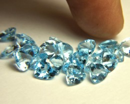 33.66 Tcw. Trillion VVS Topaz, 22pcs. - Gorgeous