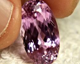 16.55 Carat VVS Himalayan Purple/Pink Kunzite - Superb