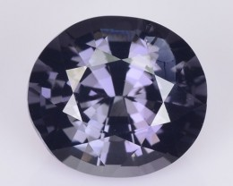 1.80 Cts Natural Bluish Grey Spinel Oval Burmese