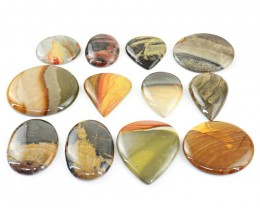 Genuine 873.00 Cts Polychrome Jasper Gem Lot