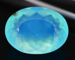 12.23 ct Peruvian Blue Opal Untreated SKU.3