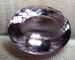 28.67 ct.  Natural Untreated Amethyst – IGE Certificate
