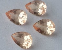 2.55 cts Exclusive Lustrous peach Morganite beauiful color bazil