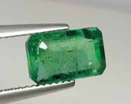 2.58 cts Top Luster Green Natural Emerald