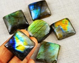 Genuine 320.00 Cts Labradorite Gem Lot - Wow