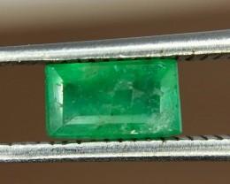 0.50 Crt Natural Swat Emerald Faceted Gemstone (942)
